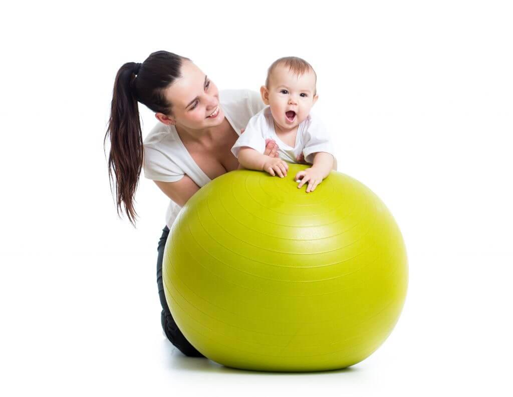Mor barn trening Røa Ullern Hovseter